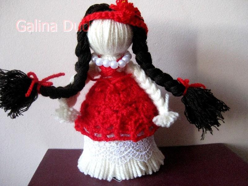 Как можно сделать куклу из ниток своими руками