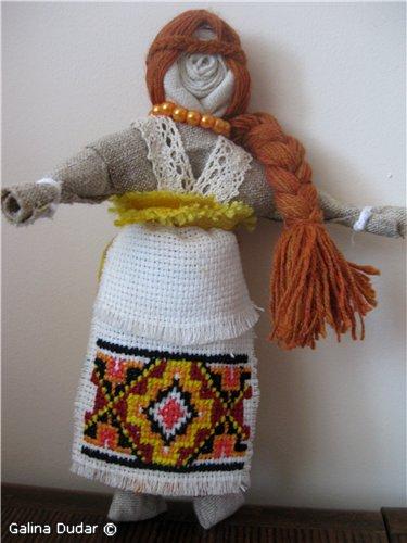 Лялька-мотанка своїми руками. Златовласа