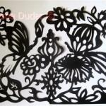 © Метелики, квіти, птахи