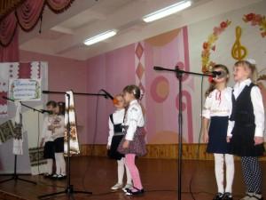 Першачки співають Василечки