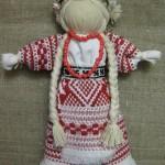 Лялька-мотанка на кукурудзяному качані-2