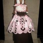 Зефіра в шоколаді або Як поєднати витинанку з лялькою-мотанкою
