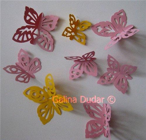 1 Метеликотерапія | Витинанки метелики