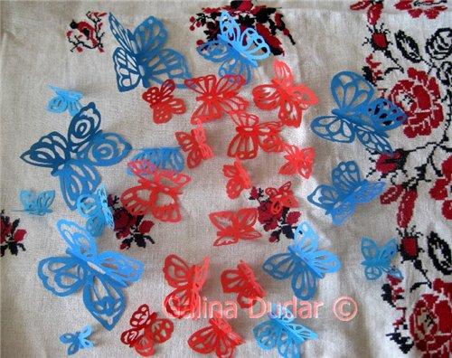 2 Метеликотерапія | Витинанки метелики