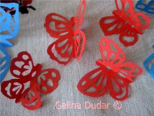5 Метеликотерапія | Витинанки метелики