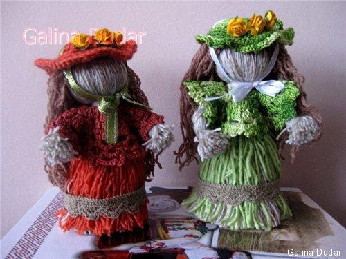 майстер-клас з виготовлення вузлової ляльки мотанки з ниток