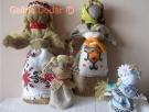 Ляльки з мішковини та з домотканого полотна