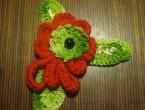 плетення гачком квіти