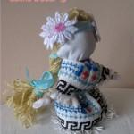© Ляльки з мішковини та з домотканого  полотна