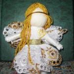 Як зробити ляльку - мотанку Ангелятко