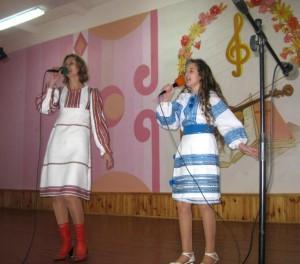 Світлана та Веронічка Гусак