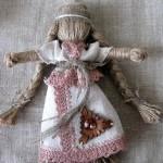 Лялька -мотанка із джутового шнура