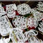 Іграшки на різдвяну етно-ялинку