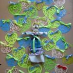 Валентинки-витинанки від Софійки